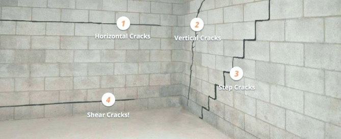 wall cracks | Evans City, PA | Everdry Waterproofing of Pittsburgh